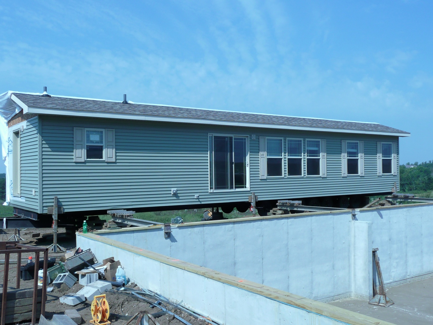 Who Moves A Double Wide Mobile Home